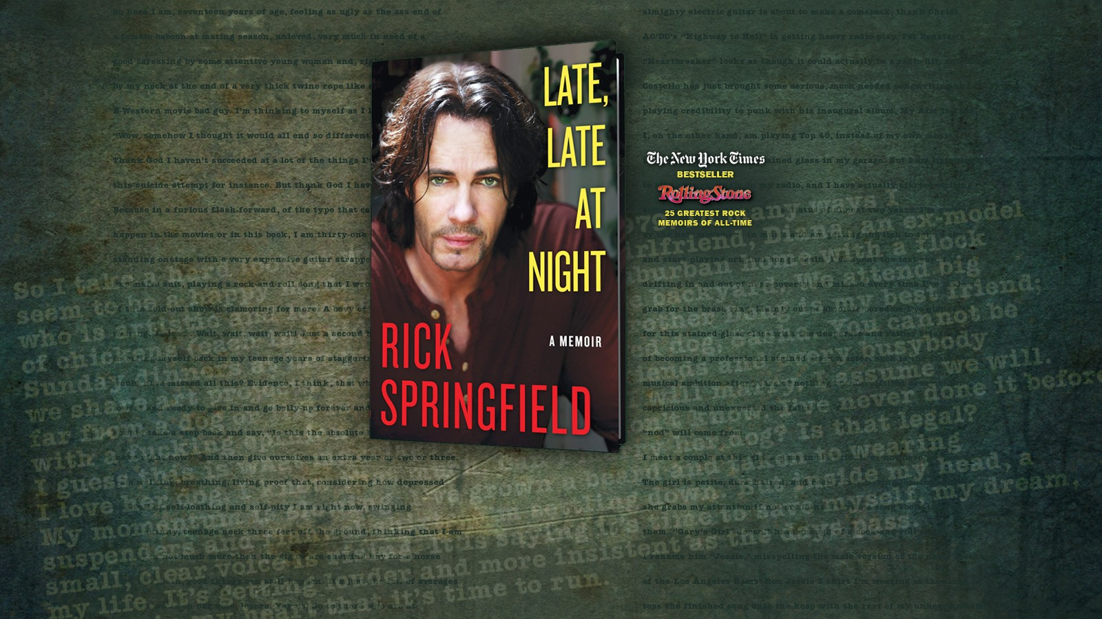 Rick Springfield - Late, Late, At Night