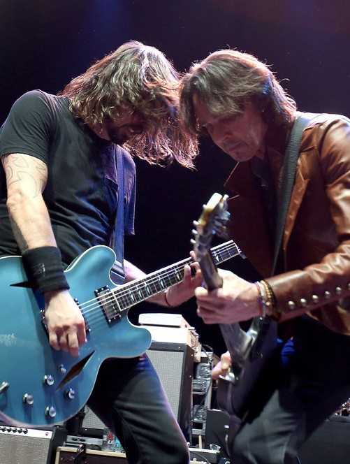 Dave Grohl and Rick Springfield