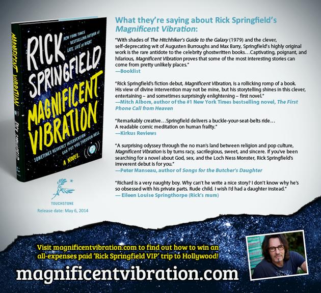 Rick Springfield - Magnificent Vibration - Reviews