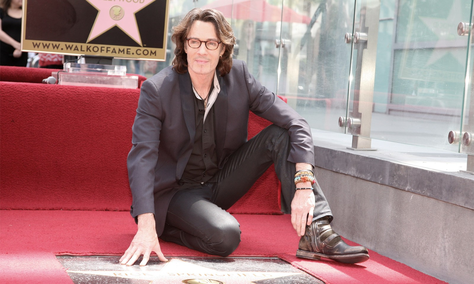 Rick Springfield - Hollywood Walk of Fame