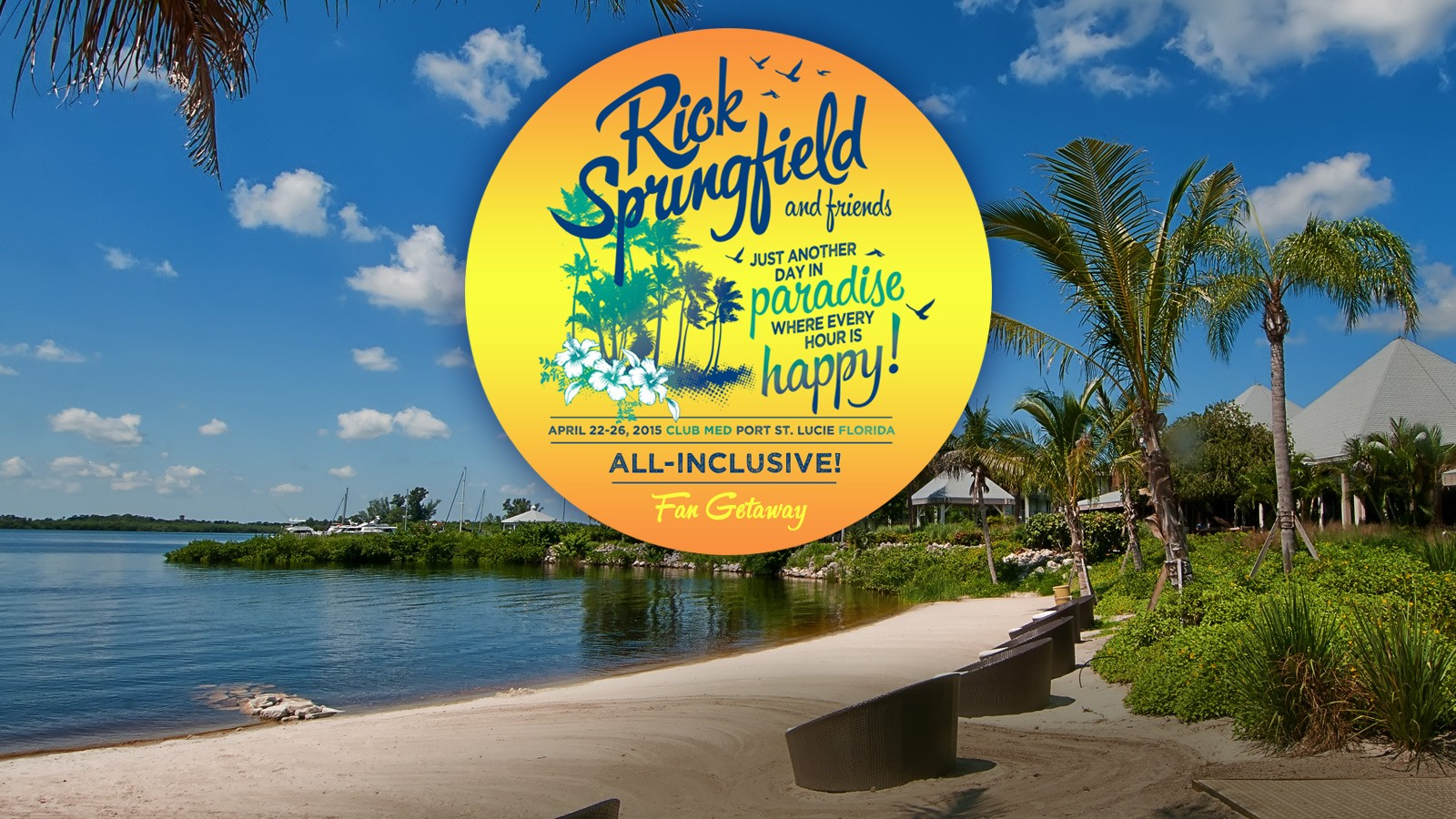 Rick Springfield & Friends Fan Getaway