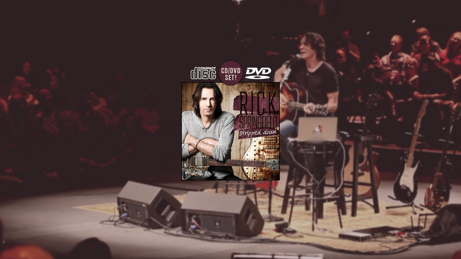 Rick Springfield - Stripped Down - CD/DVD