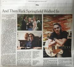 Rick Springfield - New York Times
