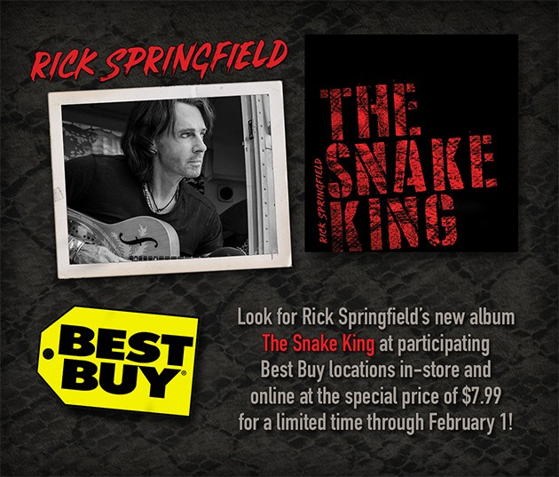 The Snake King - Rick Springfield