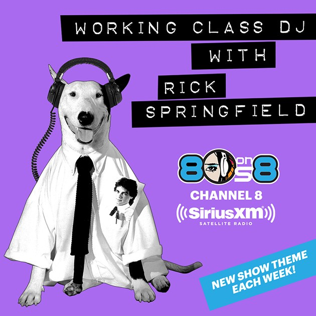 Working Class DJ with Rick Springfield