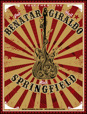 Pat Benatar, Neil Giraldo and Rick Springfield Tour