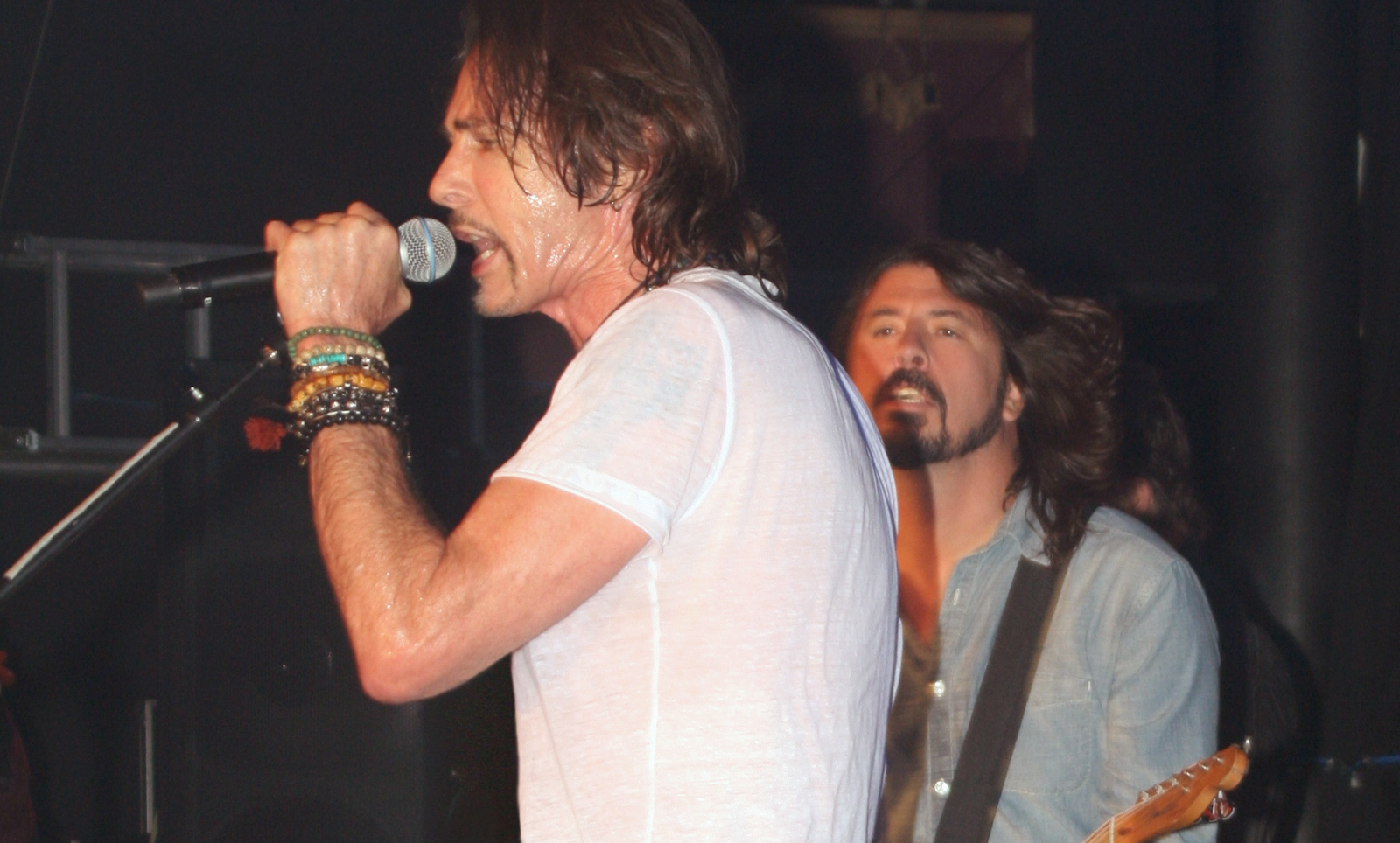 Dave Grohl & Rick Springfield