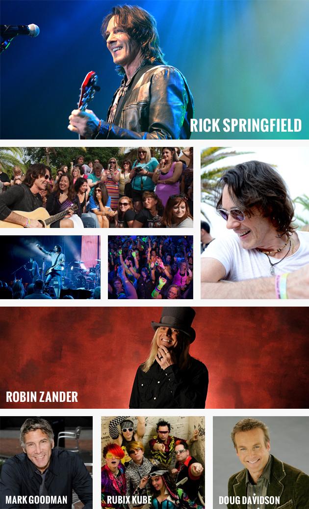 Rick Springfield Fan Getaway ClubMed 2015