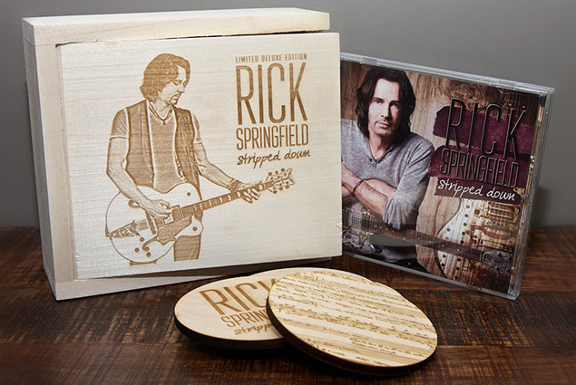 Rick Springfield - Stripped Down - CD/DVD Limited Edition